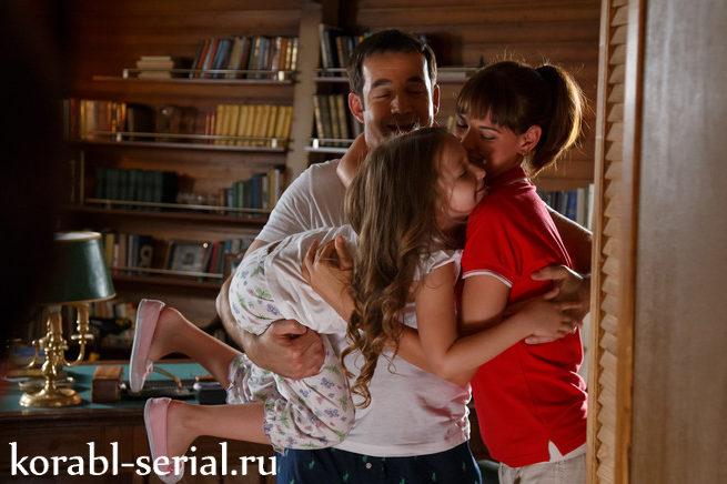 Виктор, Алена и Лера Громовы